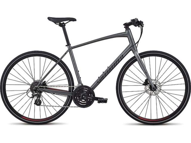 Specialized Sirrus Sport Disc, male frame, frame size M; colour: grey